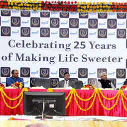 Dalmia Bharat Sugar and Industries Limited completes 25 years of business operations in India.