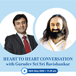Heart to Heart with Gurudev Sri Sri Ravishankar