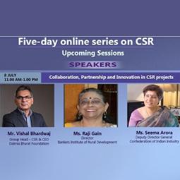 Mr Vishal Bhardwaj on Need for Collaboration & Partnership in CSR Projects