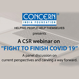 Mr. Vishal Bhardwaj at the CSR Webinar by Concern India Foundation