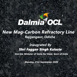 Dalmia-OCL Launches Magnesia-Carbon Line at Rajgangpur